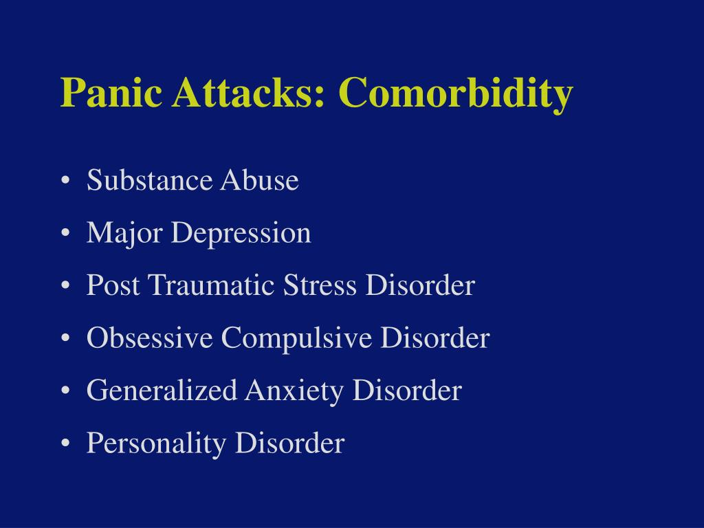Panic Attacks: Comorbidity