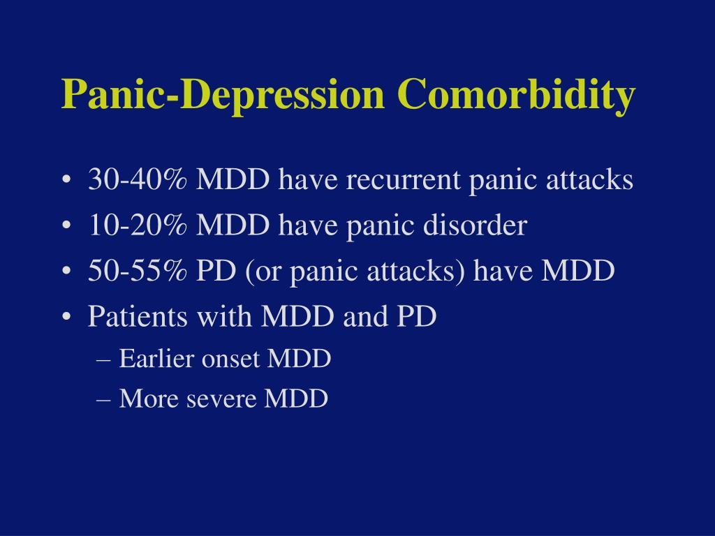 Panic-Depression Comorbidity
