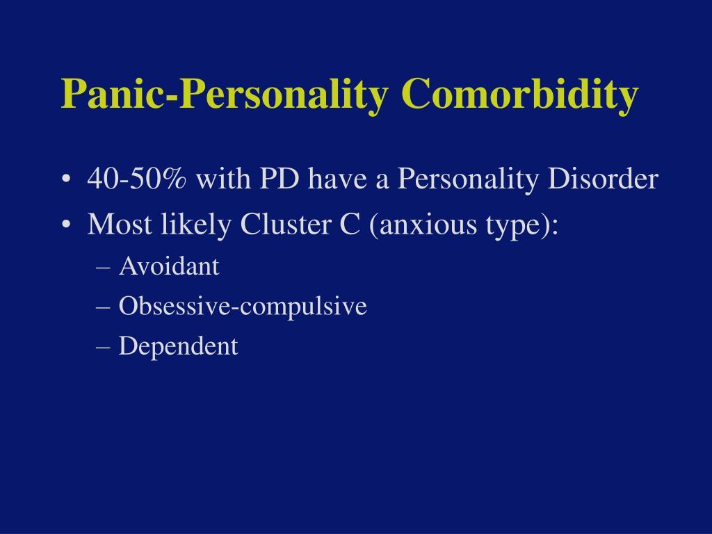 Panic-Personality Comorbidity