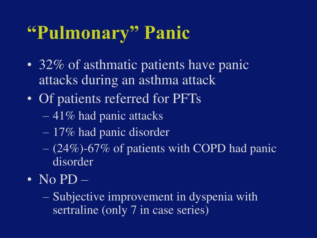 """Pulmonary"" Panic"