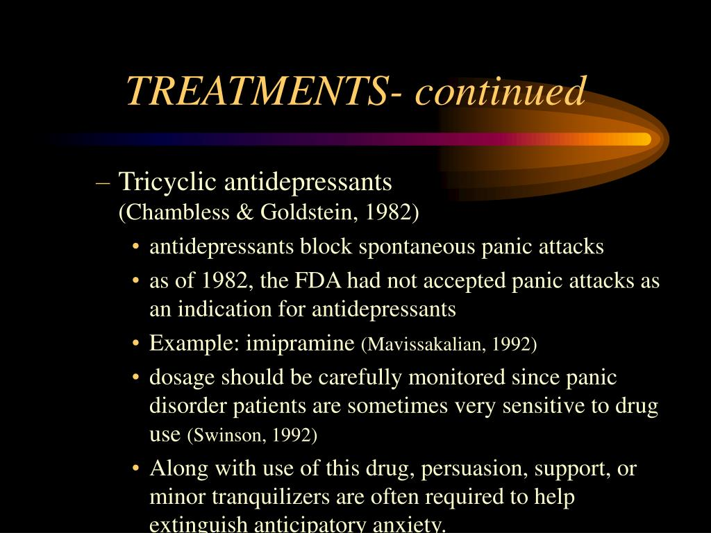 TREATMENTS- continued