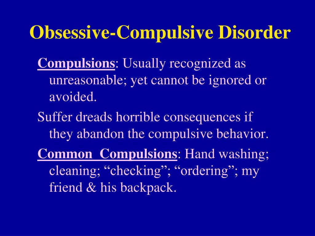 obsessive compulsive personality disorder Hoarding: the basics those most often associated with hoarding are obsessive-compulsive personality disorder (ocpd), obsessive-compulsive disorder.