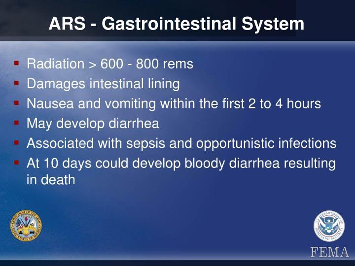 ARS - Gastrointestinal System