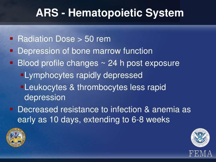 ARS - Hematopoietic System