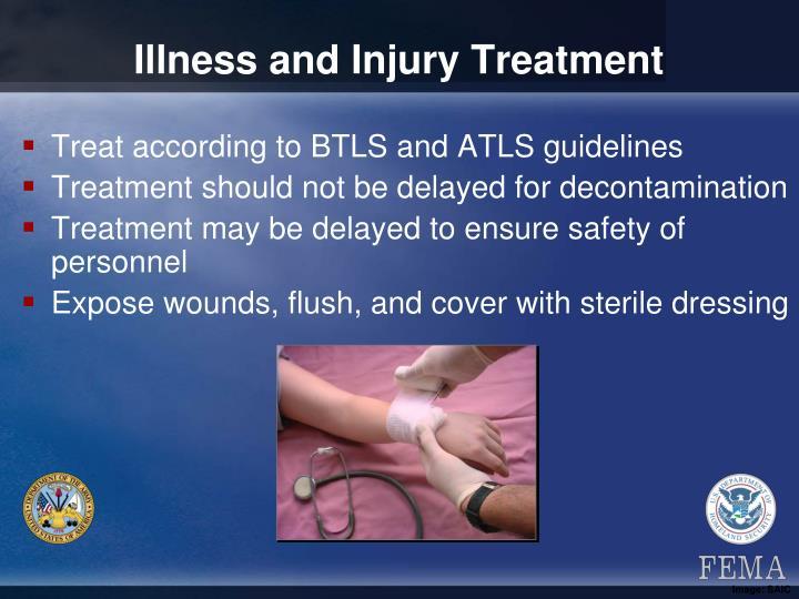 Illness and Injury Treatment