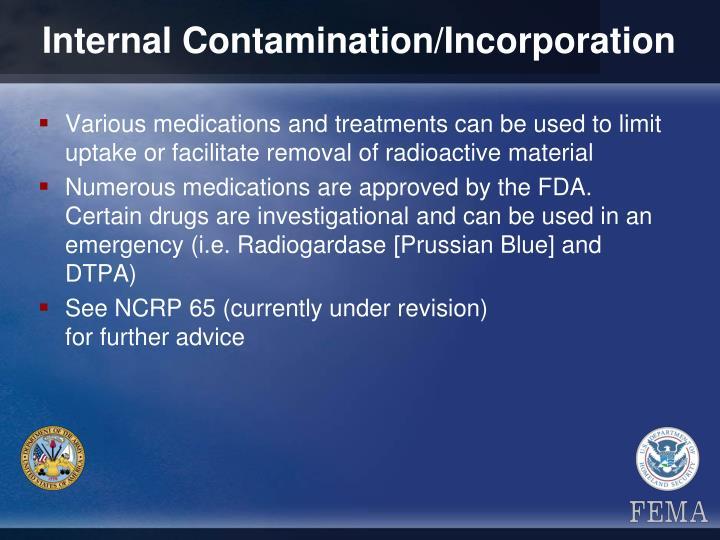 Internal Contamination/Incorporation