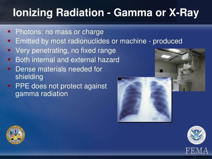 Ionizing Radiation - Gamma or X-Ray