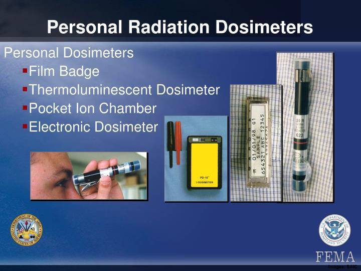 Personal Radiation Dosimeters