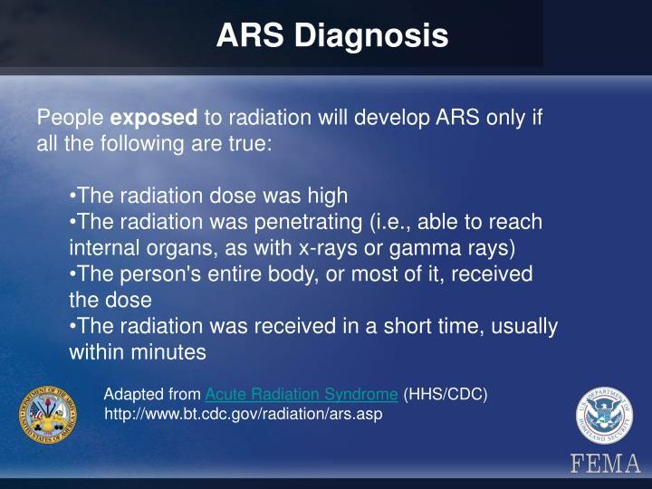 ARS Diagnosis