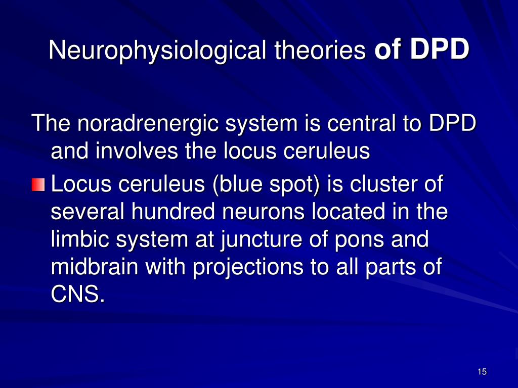 Neurophysiological theories