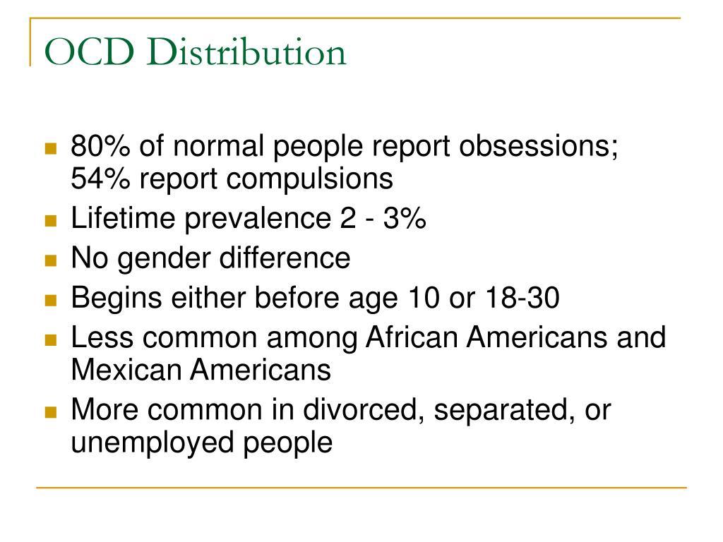 OCD Distribution