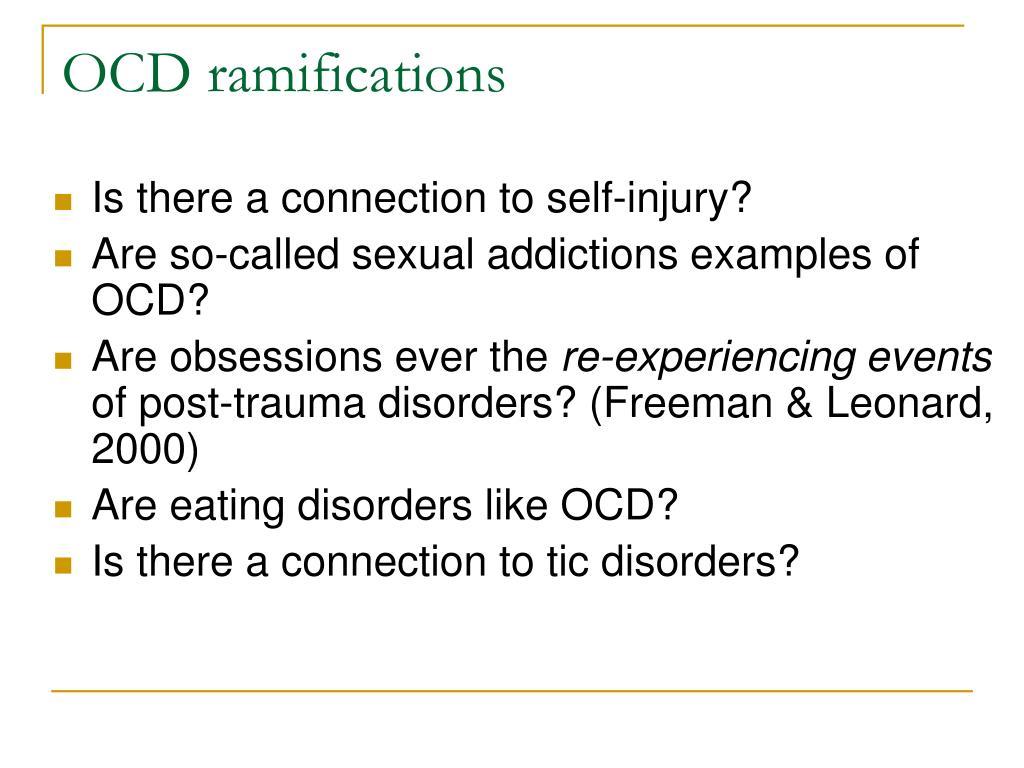 OCD ramifications