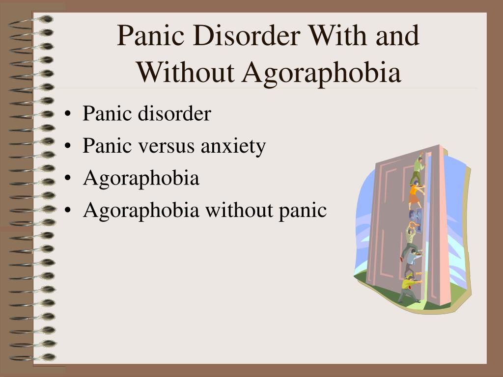 Panic Disorder With and Without Agoraphobia