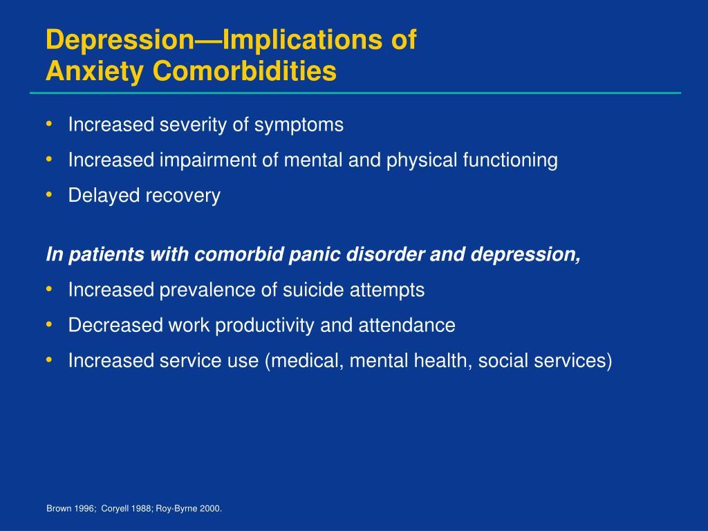 Depression—Implications of
