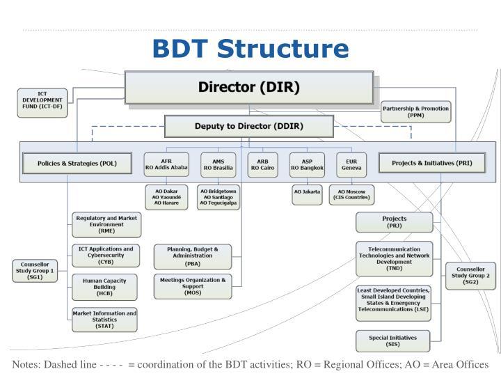 BDT Structure