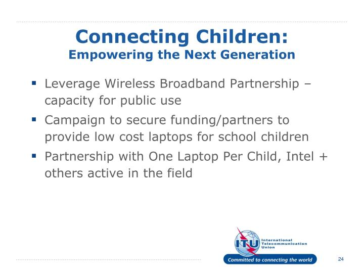 Connecting Children: