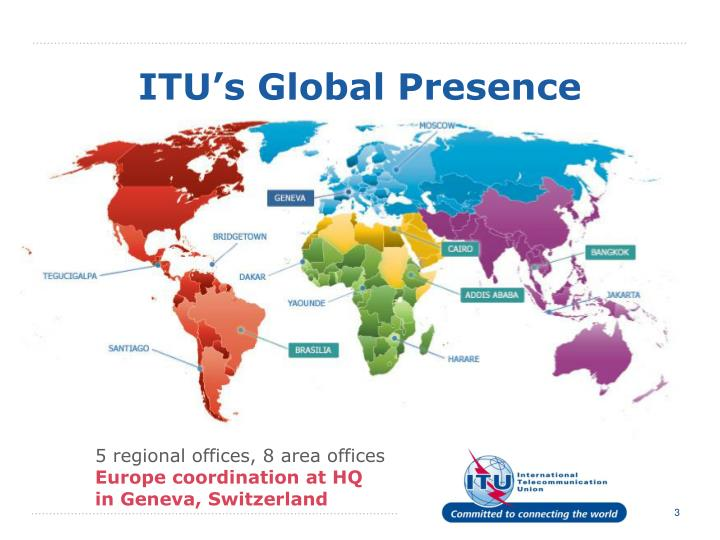 ITU's Global Presence