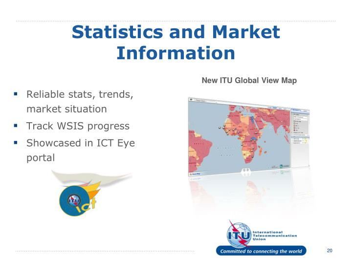 Statistics and Market Information