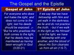 the gospel and the epistle3