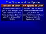 the gospel and the epistle4