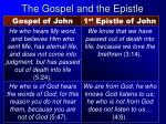 the gospel and the epistle5
