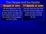 the gospel and the epistle6