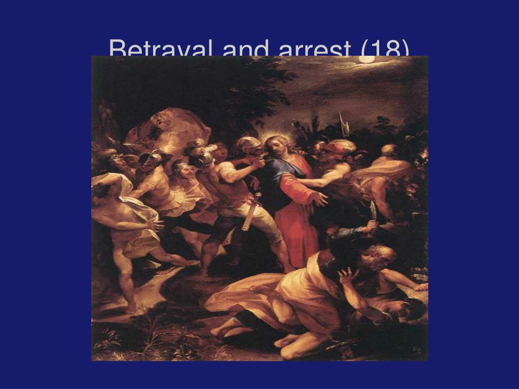 Betrayal and arrest (18)