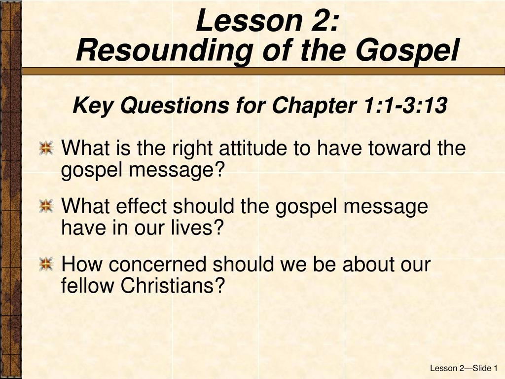 Lesson 2: