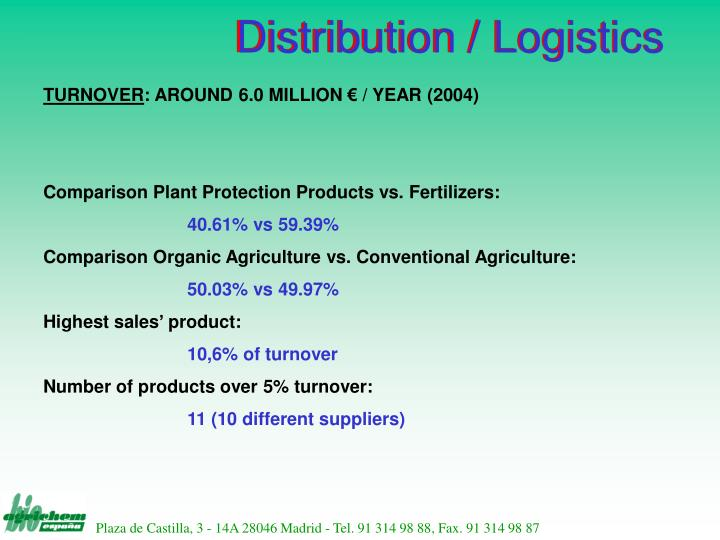 Distribution / Logistics