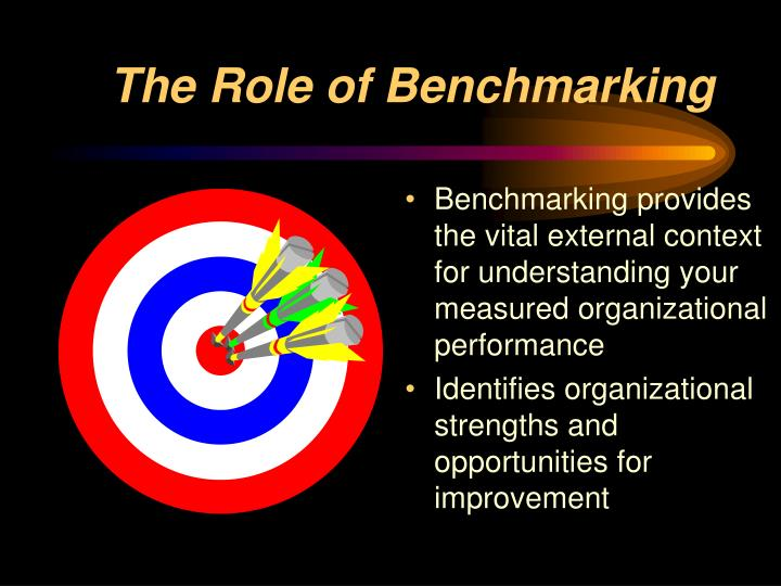 The Role of Benchmarking