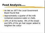 food analysis18