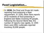 food legislation24