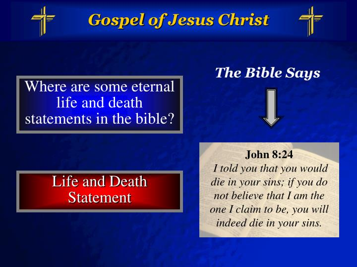 Gospel of jesus christ3