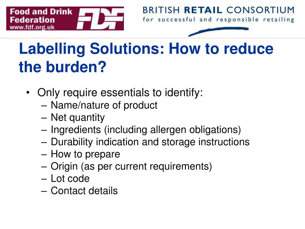Labelling Solutions: How to reduce the burden?