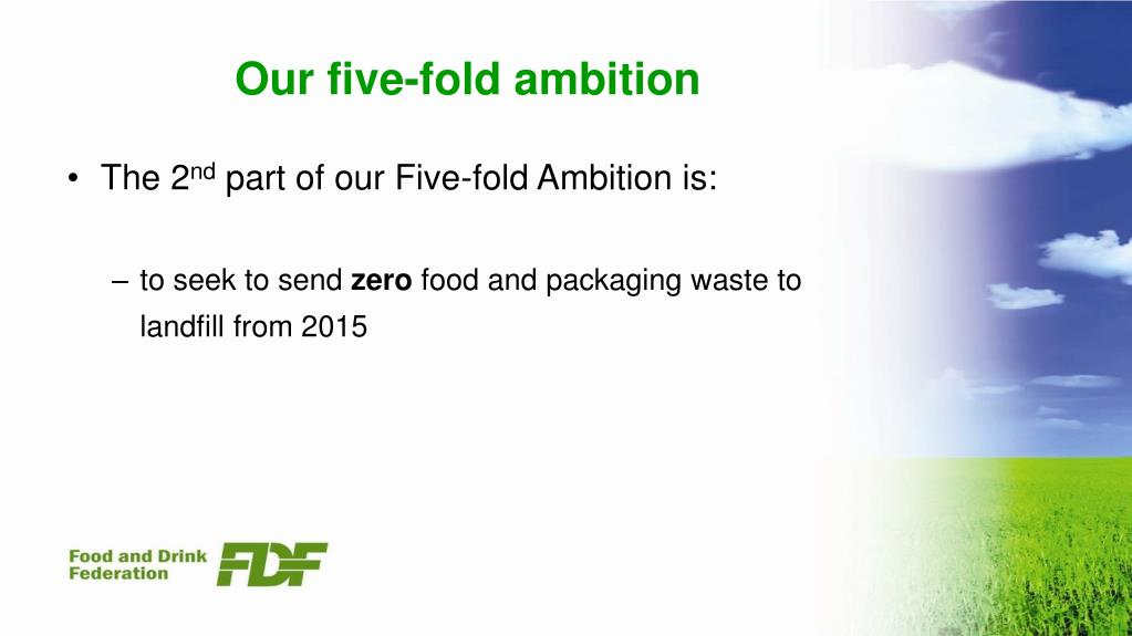 Our five-fold ambition
