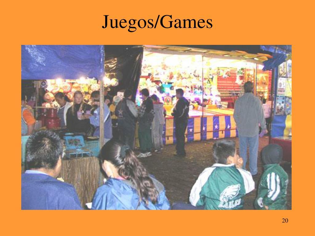 Juegos/Games