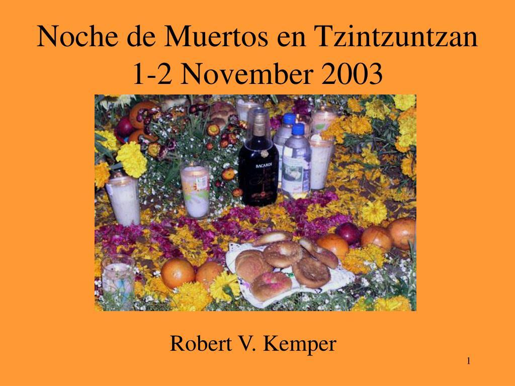 noche de muertos en tzintzuntzan 1 2 november 2003