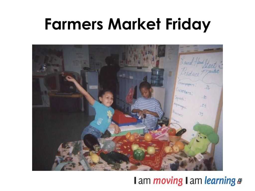 Farmers Market Friday