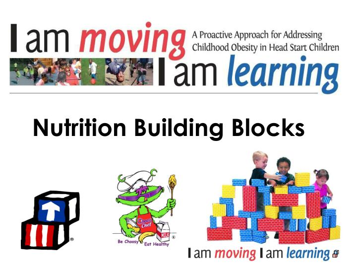 Nutrition building blocks