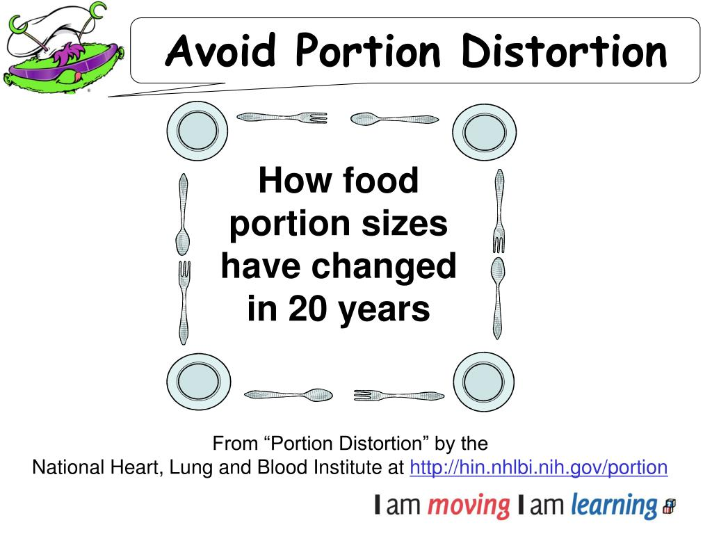 Avoid Portion Distortion