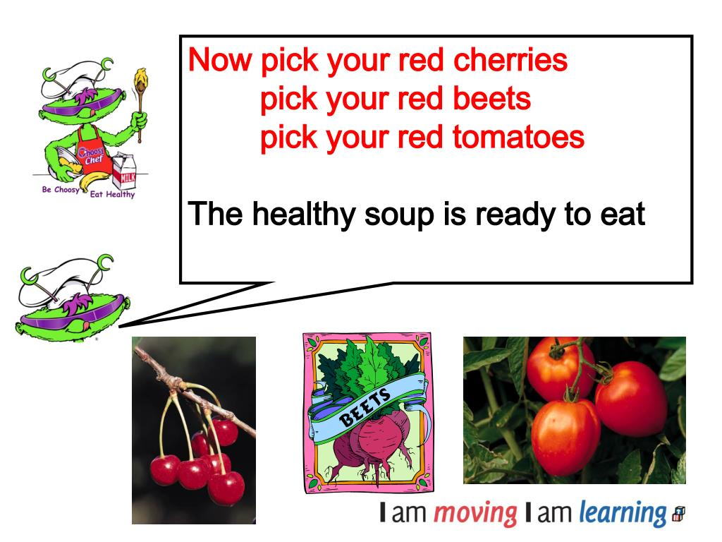 Now pick your red cherries