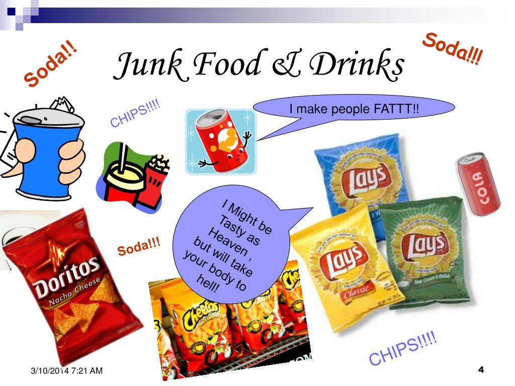 Junk Food & Drinks