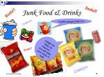 junk food drinks