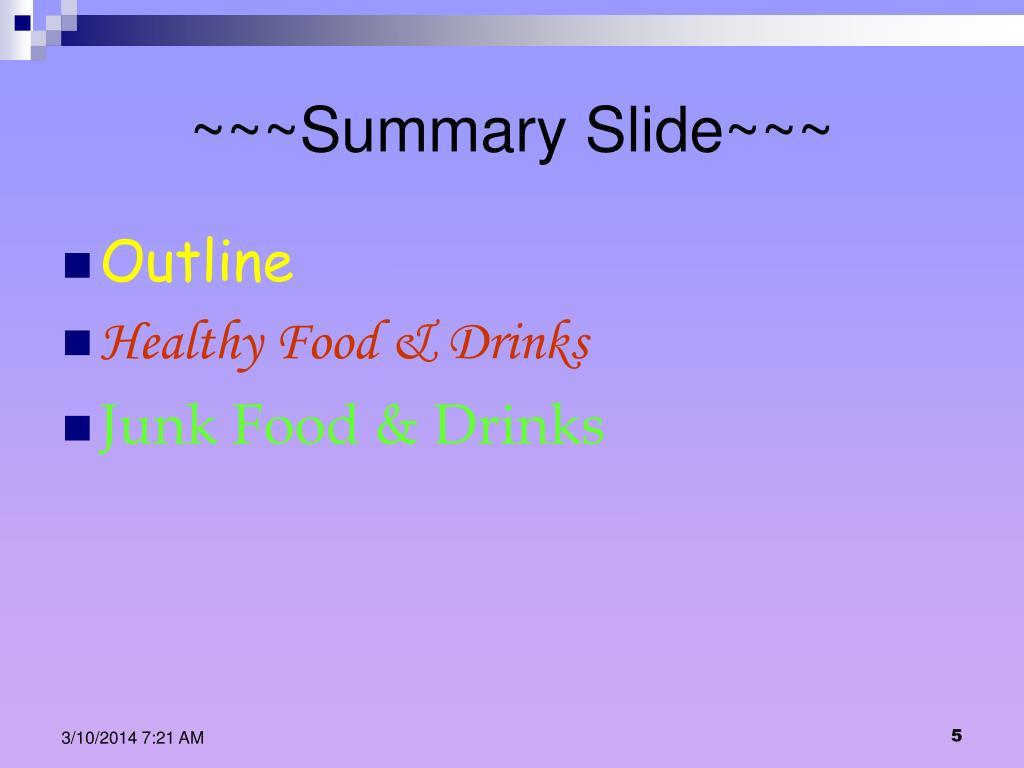 ~~~Summary Slide~~~