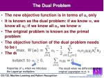 the dual problem1