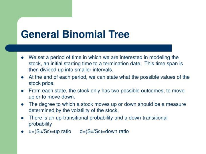 General Binomial Tree