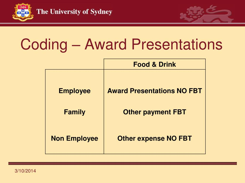 Coding – Award Presentations