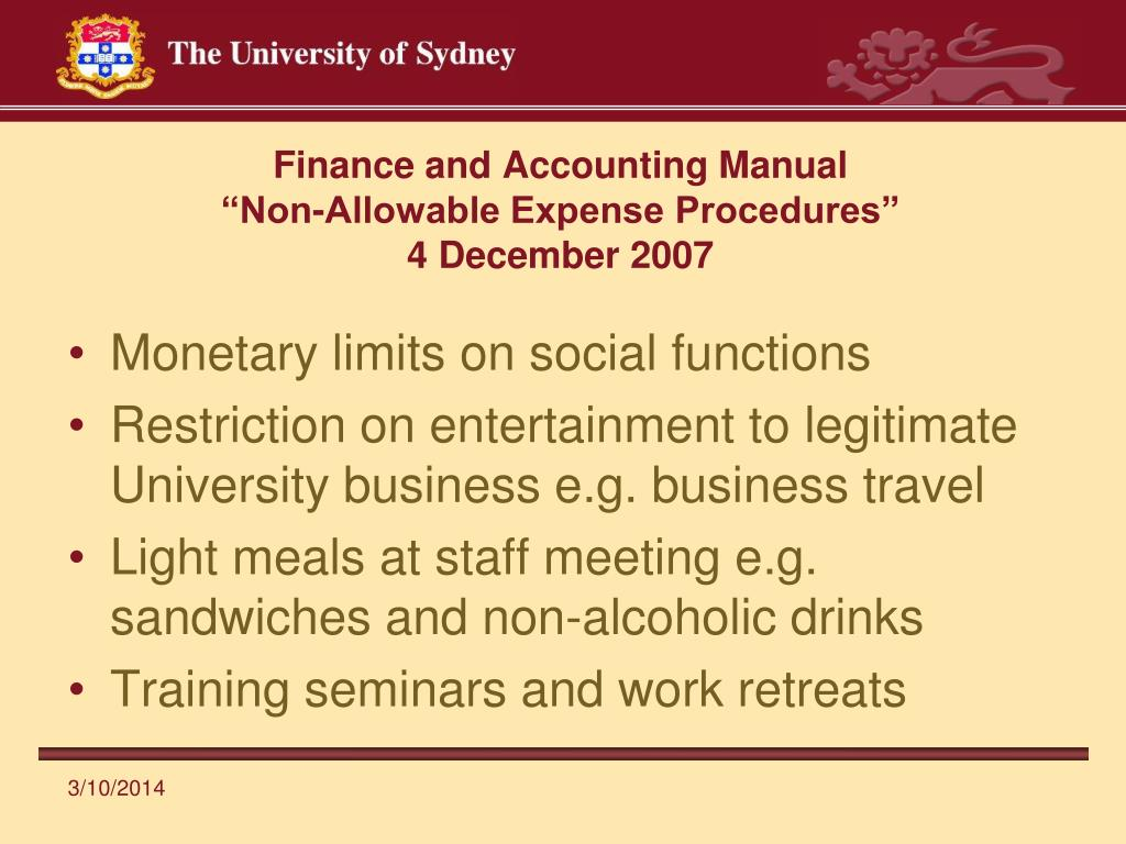 Finance and Accounting Manual