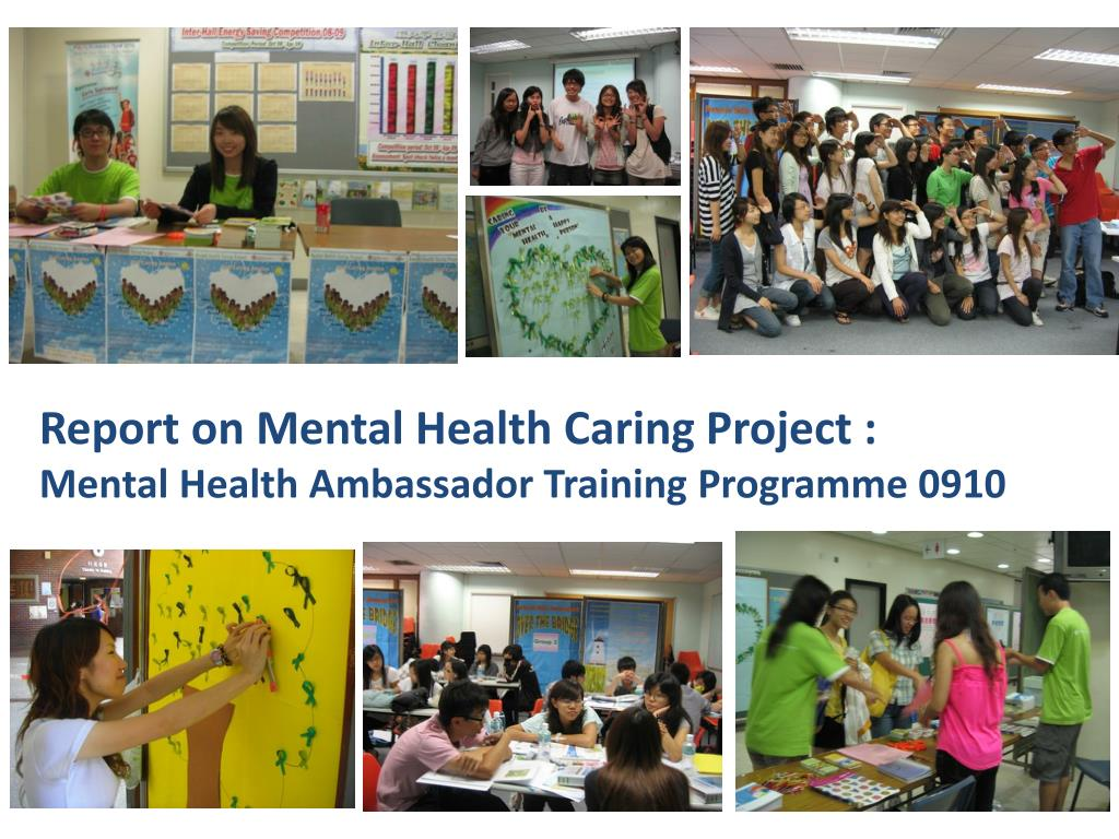 Report on Mental Health Caring Project :