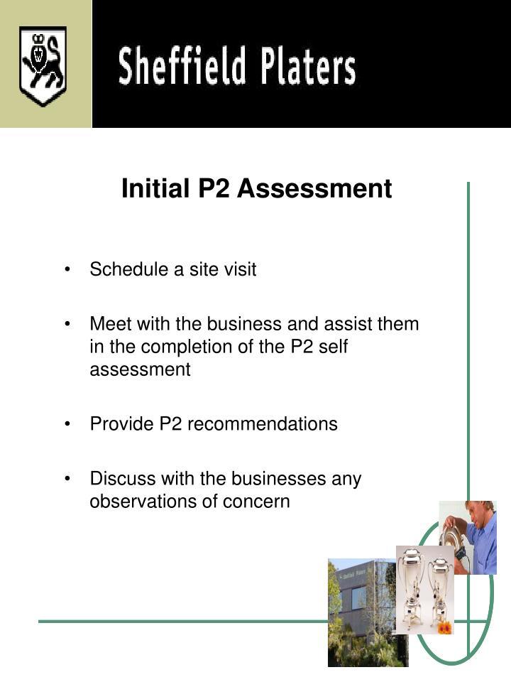 Initial P2 Assessment